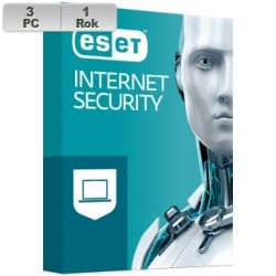 ESET Internet Security 2021 3PC na 1r EIS 2021 pre 3 PC na 1 rok SK