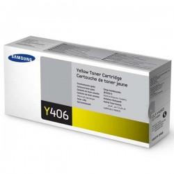 Samsung originál toner CLT-Y406S, yellow, 1000str., Samsung CLP-360, 365, CLX-3300, 3305