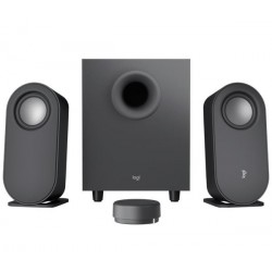 Logitech® Z407 Bluetooth computer speakers with subwoofer and...