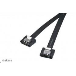 AKASA kabel  Super slim SATA3 datový kabel k HDD,SSD a optickým...