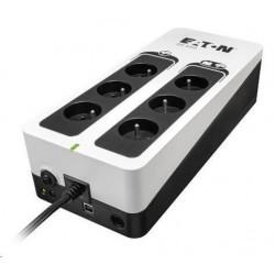 Eaton 3S 550 FR, UPS 550VA / 330W, 6 zásuvek (3 zálohované), USB...