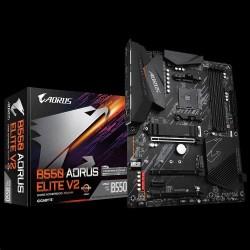 GIGABYTE MB Sc AM4 B550 AORUS ELITE V2, AMD B550, 4xDDR4, 1xHDMI, 1xDP
