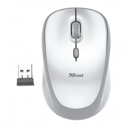 TRUST Myš Yvi Wireless Mouse - white 23386