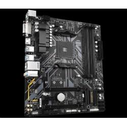 GIGABYTE MB Sc AM4 B450M DS3H V2, AMD B450, 4xDDR4, 1xDVI, 1xHDMI