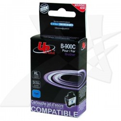 UPrint kompatibil ink s LC-900C, cyan, 13,5ml, B-900C, pre Brother DCP-110C, MFC-210C, 410C, 1840C, 3240C, 5440CN