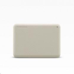 "TOSHIBA HDD CANVIO ADVANCE (NEW) 1TB, 2,5"", USB 3.2 Gen 1, bílá /..."
