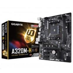 GIGABYTE MB Sc AM4 A320M-H (rev2.0), AMD A320, 2xDDR4, VGA, mATX...