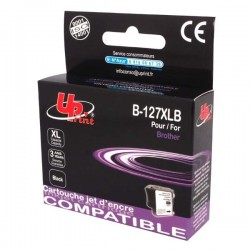 UPrint kompatibil ink s LC-127XLBK, black, 1200str., 30ml,...