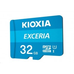 KIOXIA Exceria microSD card 32GB M203, UHS-I U1 Class 10 LMEX1L032GG2