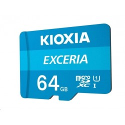 KIOXIA Exceria microSD card 64GB M203, UHS-I U1 Class 10 LMEX1L064GG2