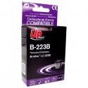 UPrint kompatibil ink s LC-223BK, LC-223BK, black, 550str., 18ml, B-223B, 1ks, pre Brother MFC-J4420DW, MFC-J4620DW