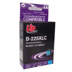UPrint kompatibil ink s LC-225XLC, LC-225XLC, cyan, 1200str., 13ml,...