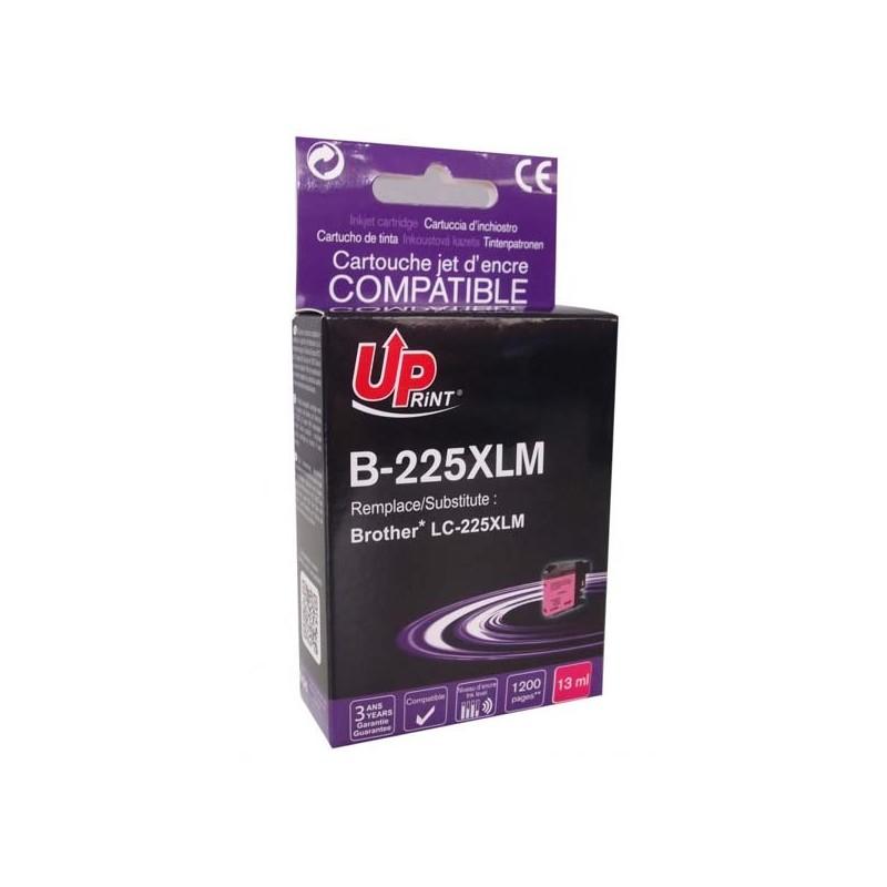 UPrint kompatibil ink s LC-225XLM, LC-225XLM, magenta, 1200str., 13ml, B-225XLM, pre Brother MFC-J4420DW, MFC-J4620DW