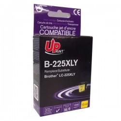 UPrint kompatibil ink s LC-225XLY, yellow, 1200str., 13ml,...