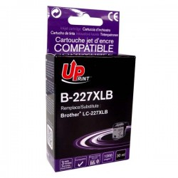 UPrint kompatibil ink s LC-227XLBK, LC-227XLBK, black, 1200str., 30ml, B-227XLB, pre Brother MFC-J4420DW, MFC-J4620DW