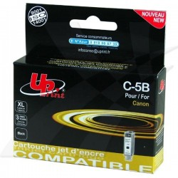 UPrint kompatibil ink s PGI5BK, black, 28ml, C-5B, pre Canon...