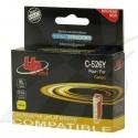UPrint kompatibil ink s CLI526Y, yellow, 10ml, C-526Y, pre Canon Pixma MG5150, MG5250, MG6150, MG8150, s čipom