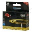 UPrint kompatibil ink s CLI526C, cyan, 10ml, C-526C, pre Canon Pixma MG5150, MG5250, MG6150, MG8150, s čipom