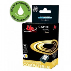 UPrint kompatibil ink s CL511, color, 12ml, C-511CL, pre Canon MP240, MP260