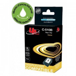 UPrint kompatibil ink s PG510BK, black, 12ml, C-510B, pre Canon MP240, 260, 270, 480