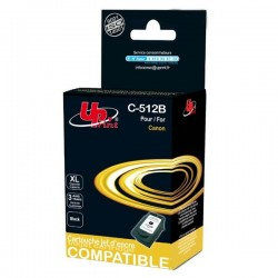 UPrint kompatibil ink s PG512BK, black, 18ml, C-512B, pre Canon MP240, 260, 480