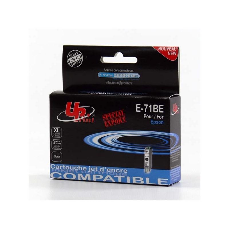 UPrint kompatibil ink s C13T07114011, black, 11ml, E-71B, pre Epson D78, DX4000, DX4050, DX5000, DX5050, DX6000, DX605