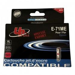UPrint kompatibil ink s C13T07134011, magenta, 11ml, E-71M, pre Epson D78, DX4000, DX4050, DX5000, DX5050, DX6000, DX605