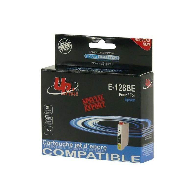 UPrint kompatibil ink s C13T12814010, black, 7ml, E-128BE, pre Epson Stylus S22, SX125, 420W, 425W, Stylus Office BX305