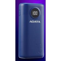 ADATA P10000QCD Power Bank 10000mAh modrá AP10000QCD-DGT-CDB