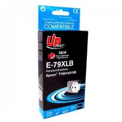 UPrint kompatibil ink s C13T79014010, 79XL, XL, black, 2600str., 50ml, E-79XLB, 1ks, pre Epson WorkForce Pro WF-5620