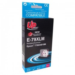 UPrint kompatibil ink s C13T79034010, 79XL, XL, magenta, 2000str., 25ml, E-79XLM, 1ks, pre Epson WorkForce Pro WF-56