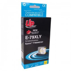 UPrint kompatibil ink s C13T79044010, 79XL, XL, yellow, 2000str., 25ml, E-79XLY, 1ks, pre Epson WorkForce Pro WF-562