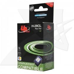 UPrint kompatibil ink s C8728AE, color, 21ml, H-28CL, pre HP DeskJet 3420, 3325, 3550, 3650, OJ-4110, PSC-1110