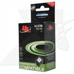 UPrint kompatibil ink s C8727AE, black, 20ml, H-27B, pre HP DeskJet...