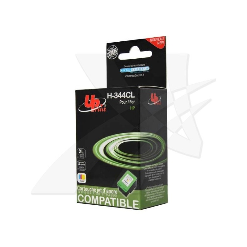 UPrint kompatibil ink s C9363EE, color, 21ml, H-344CL, pre HP Photosmart 385, 335, 8450, DJ-5940, 6840, 9800