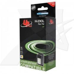 UPrint kompatibil ink s C1823D, color, 40ml, H-23CL, pre HP DeskJet 710C, 890C, 895, 1120C, 1125C, OJ-psc500