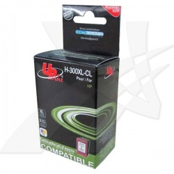 UPrint kompatibil ink s CC644EE, No.300XL, color, 19ml, H-300XL-CL,...