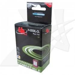 UPrint kompatibil ink s CC644EE, No.300XL, color, 19ml, H-300XL-CL, pre HP DeskJet D2560, F4280