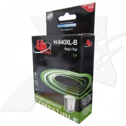 UPrint kompatibil ink s C4906A, No.940XL, black, 80ml, H-940XL-B, HP Officejet Pro 8000, Pro 8500