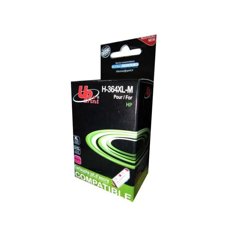UPrint kompatibil ink s CB324EE, No.364XL, magenta, 12ml, H-364XLM, pre HP Photosmart B8550, C5380, D5460, s čipom