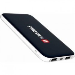 SWISSTEN BLACK CORE SLIM POWER BANK 5000 mAh 22013922