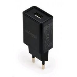 Gembird Nabíječka USB, 2100mA, černá PDP051133