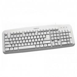 LOGO Klávesnica Standard, klasická, biela, drôtová (USB), CZ/SK 35747