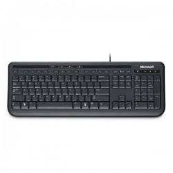 Microsoft Klávesnica Wired Keyboard 600 USB CZ, klasická, čierna, drôtová (USB), CZ/SK ANB-00020