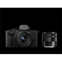 Panasonic DC-G100WEG-K černý + LUMIX 12-32mm + LUMIX 35-100mm