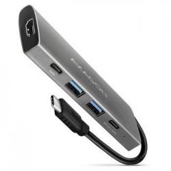 AXAGON HMC-5G2, USB-C 3.2 Gen 2 10 Gb/s hub, porty HDMI 4K/30Hz +...
