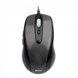 A4tech Myš N-708X, optická, 6tl., 1 koliesko, drôtová (USB), čierna, 1600DPI, herná, V-Track