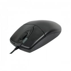 A4tech Myš OP-620D, optická, 3tl., 1 koliesko, drôtová (USB), čierna, 800DPI, klasická, 2click OP-620D BLACK U
