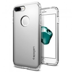 Spigen kryt Hybrid Armor pre iPhone 7 - Satin Silver 042CS20694
