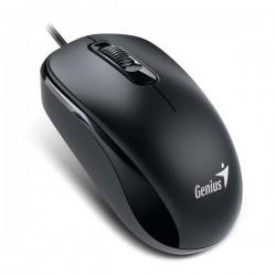 Genius Myš DX-110, optická, 3tl., 1 koliesko, drôtová (USB), čierna, 1000DPI 31010116107